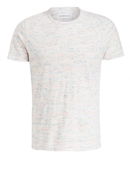 NOWADAYS T-Shirt INJECTED , Farbe: ECRU MELIERT (Bild 1)