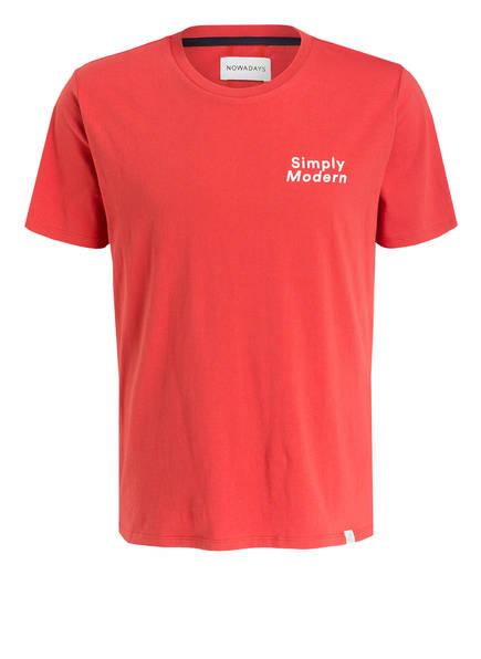 NOWADAYS T-Shirt, Farbe: ROT (Bild 1)
