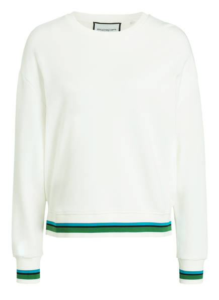 ROQA Sweatshirt, Farbe: ECRU/ GRÜN/ BLAU (Bild 1)
