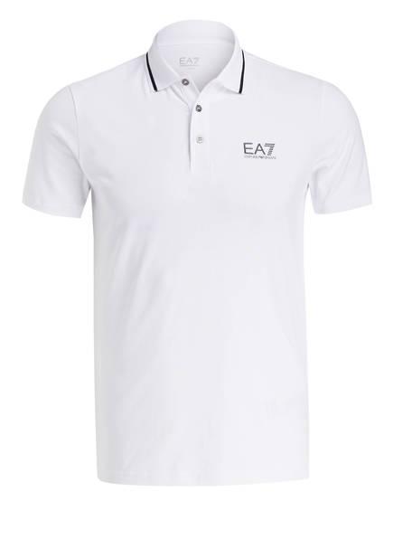 EA7 EMPORIO ARMANI Poloshirt, Farbe: WEISS (Bild 1)
