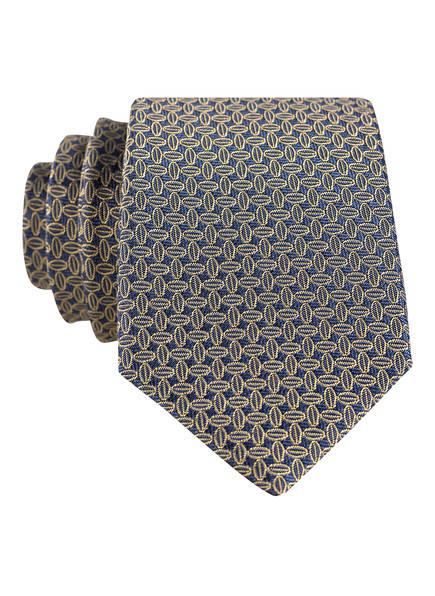 strellson Krawatte , Farbe: BLAU/ GOLD (Bild 1)