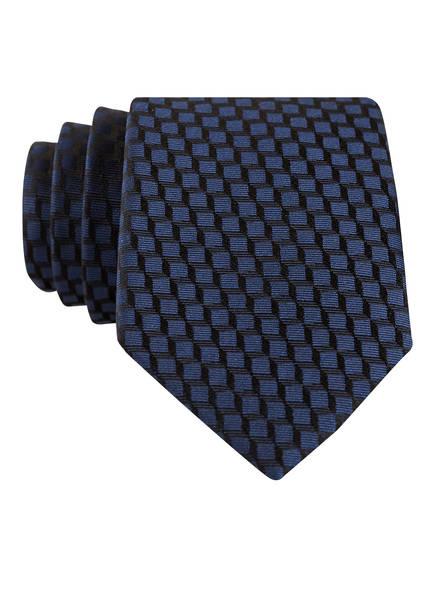 strellson Krawatte, Farbe: SCHWARZ/ DUNKELBLAU (Bild 1)
