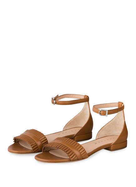 UNÜTZER Sandalen, Farbe: HELLBRAUN (Bild 1)
