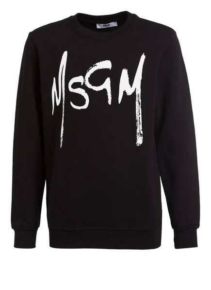 MSGM KIDS Sweatshirt, Farbe: SCHWARZ (Bild 1)