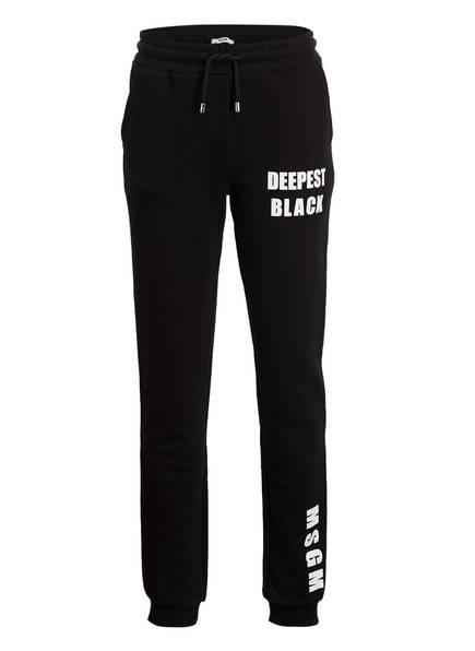 MSGM KIDS Sweatpants, Farbe: SCHWARZ (Bild 1)