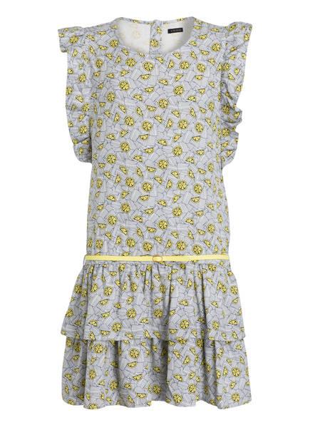 IKKS Kleid, Farbe: WEISS/ DUNKELBLAU/ GELB (Bild 1)