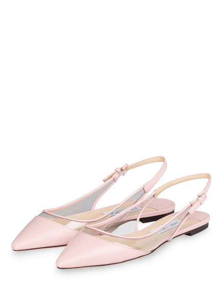 JIMMY CHOO Sling-Ballerinas ERIN, Farbe: ROSEWATER (Bild 1)