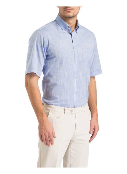 Regular Blau Fit Halbarm hemd Paul amp; Shark qAwFBA0I