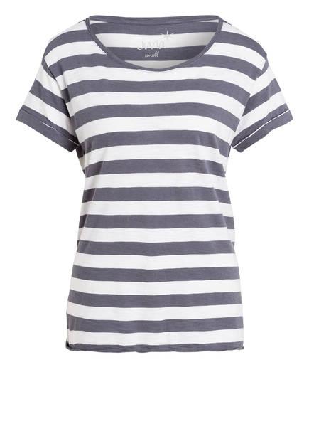 Juvia T-Shirt , Farbe: DUNKELBLAU/ WEISS (Bild 1)