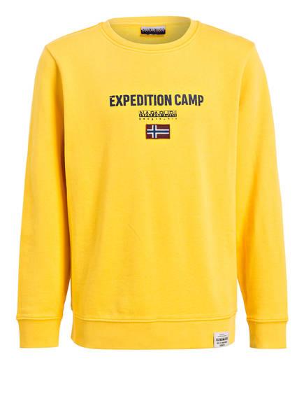 NAPAPIJRI Sweatshirt BONTHE, Farbe: GELB (Bild 1)
