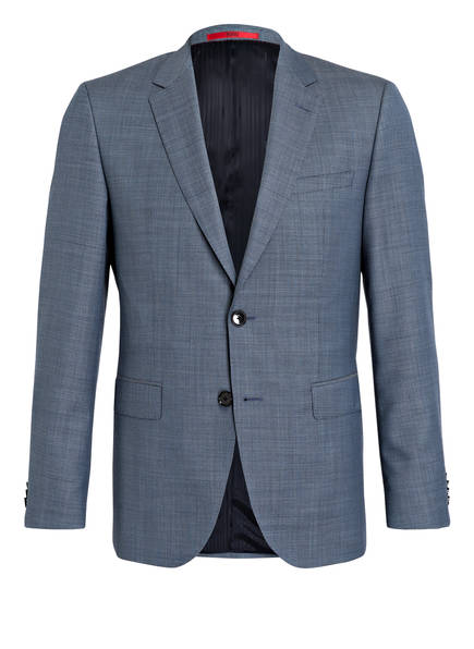 HUGO Kombi-Sakko JEFFERY Regular Fit, Farbe: HELLBLAU/ DUNKELBLAU (Bild 1)