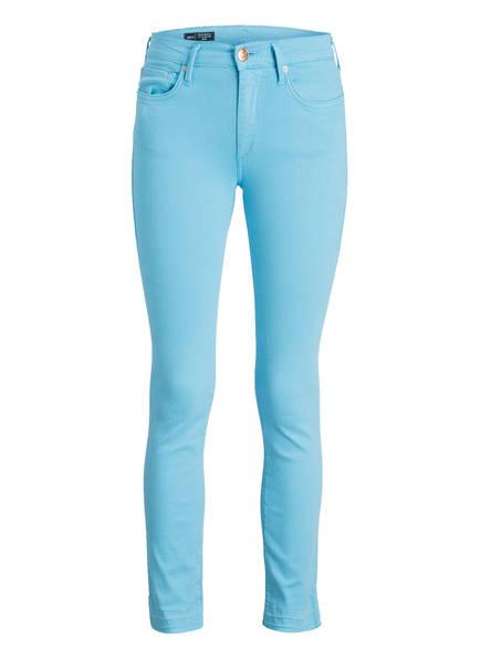 TRUE RELIGION 7/8-Jeans HALLE Super Skinny Fit, Farbe: MINTGRÜN  (Bild 1)