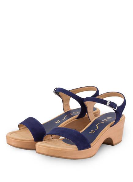unisa plateau sandaletten
