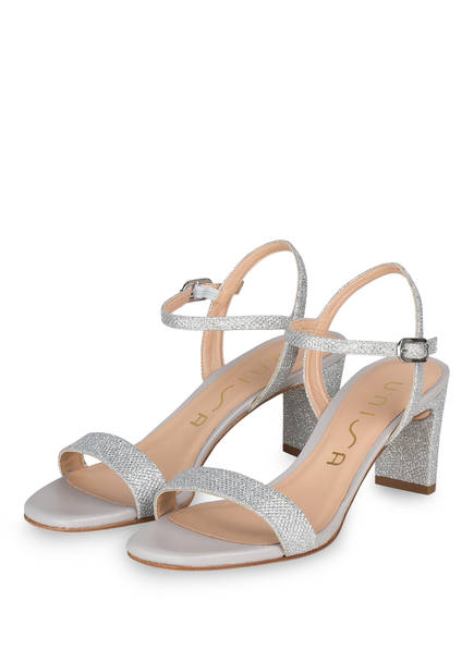 UNISA Sandaletten MABRE, Farbe: SILBER (Bild 1)