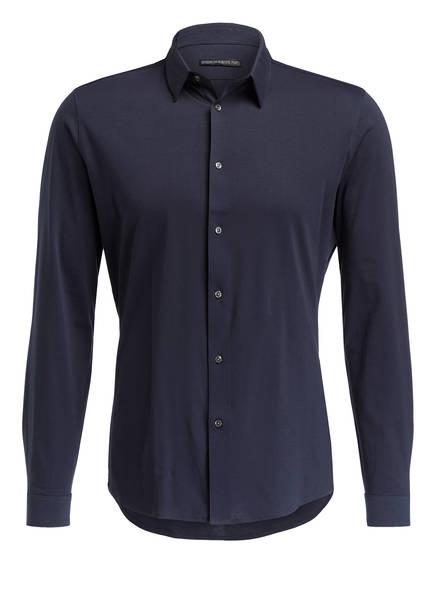 DRYKORN Jersey-Hemd RUBEN Slim Fit, Farbe: DUNKELBLAU (Bild 1)