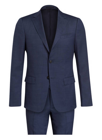 ZZegna Anzug DROP 8 Slim Fit, Farbe: DUNKELBLAU MELIERT (Bild 1)