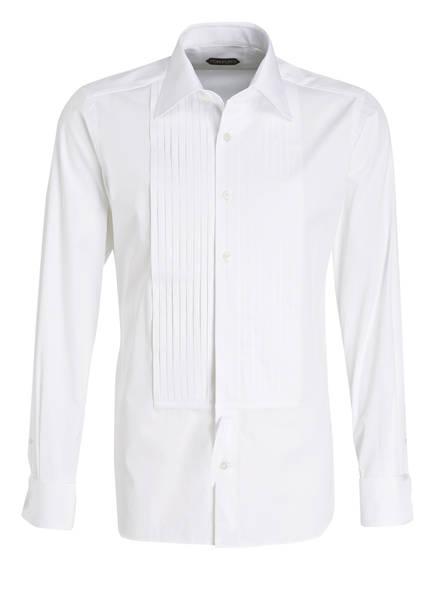 TOM FORD Smoking-Hemd Slim Fit, Farbe: WEISS (Bild 1)