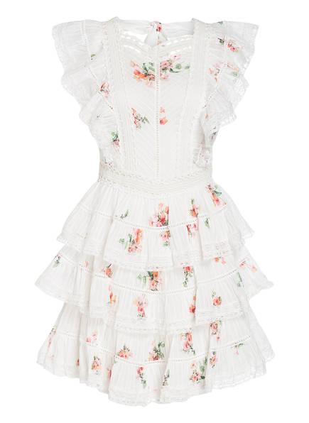ZIMMERMANN Kleid HEATHERS PINTUCK, Farbe: WEISS/ GRÜN/ ROSA (Bild 1)