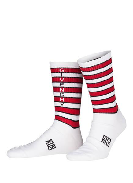 GIVENCHY Socken , Farbe: WEISS/ ROT/ SCHWARZ (Bild 1)