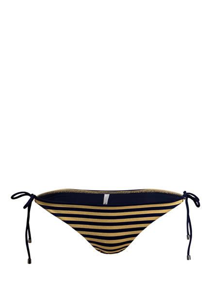 CYELL Bikini-Hose SPRING HARBOR, Farbe: NAVY/ GOLD GESTREIFT (Bild 1)