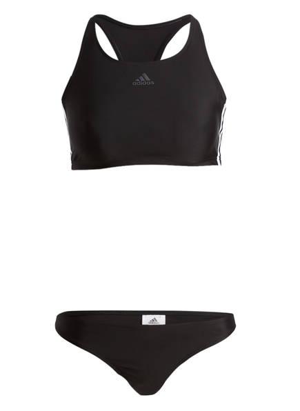 adidas Bustier-Bikini, Farbe: SCHWARZ (Bild 1)