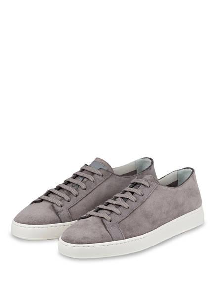 Santoni Sneaker CLEAN ICON SUEDE, Farbe: GRAU (Bild 1)
