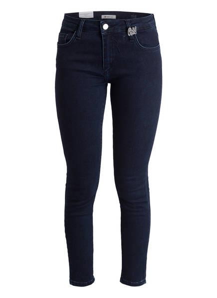 rich&royal 7/8-Jeans BLUE RINSED SATIN, Farbe: DENIM BLUE (Bild 1)