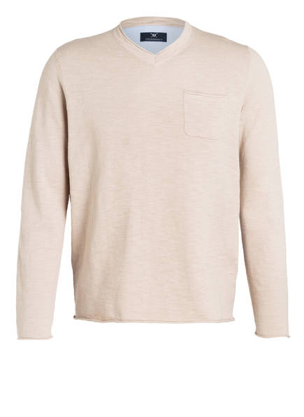 Beige Strokesman's Pullover Beige Meliert Meliert Strokesman's Pullover dxtXqI1I