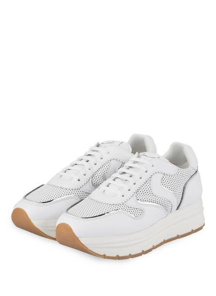 VOILE BLANCHE Plateau-Sneaker MAY PERFY , Farbe: WEISS (Bild 1)