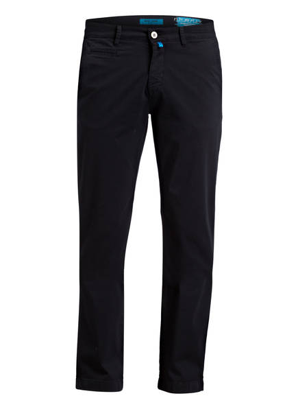 pierre cardin Chino LYON FUTURE FLEX Tapered Fit, Farbe: 68 NAVY (Bild 1)