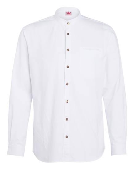 Spieth & Wensky Trachtenhemd KAVIAR Normal Fit, Farbe: WEISS (Bild 1)
