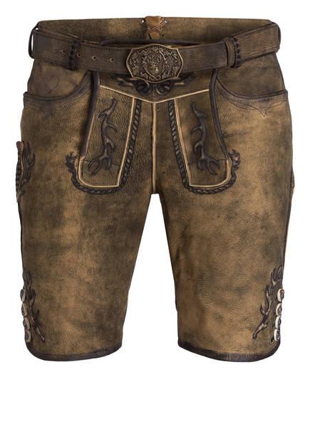 Spieth & Wensky Trachten-Lederhose GONZALES, Farbe: BRAUN (Bild 1)