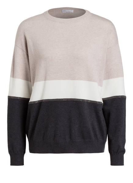 BRUNELLO CUCINELLI Cashmere-Pullover, Farbe: SCHWARZ (Bild 1)