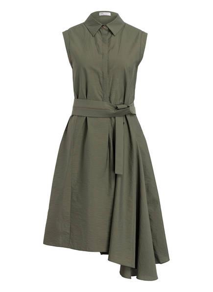 BRUNELLO CUCINELLI Hemdblusenkleid, Farbe: KHAKI (Bild 1)
