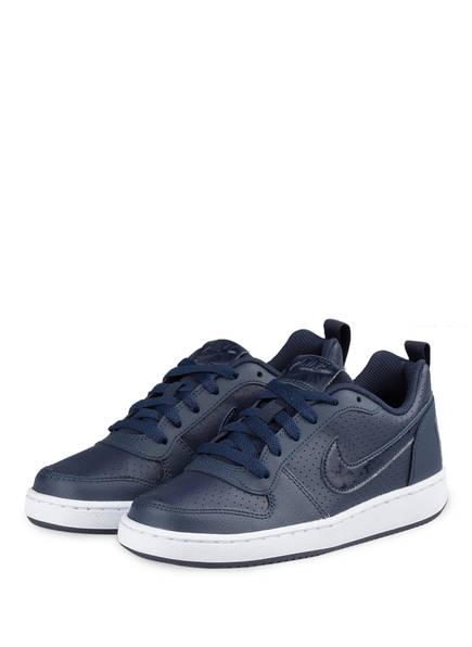 Nike Sneaker COURT BOROUGH, Farbe: DUNKELBLAU (Bild 1)