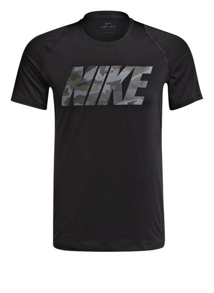 Nike T-Shirt PRO DRI-FIT, Farbe: SCHWARZ (Bild 1)