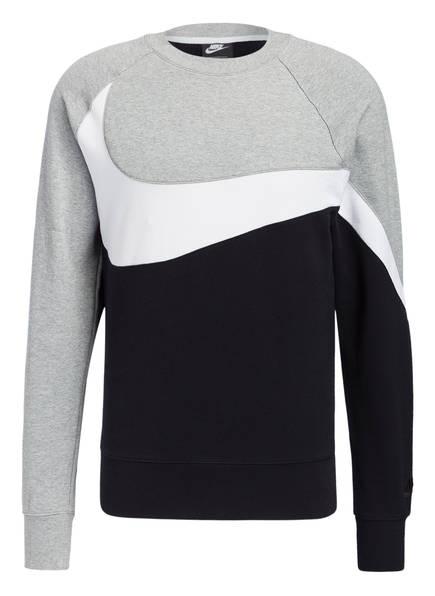Nike Sweatshirt , Farbe: HELLGRAU/ SCHWARZ (Bild 1)