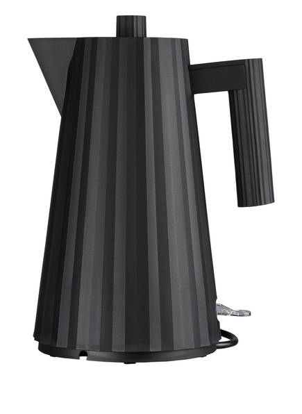 ALESSI Elektrischer Wasserkocher PLISSÉ, Farbe: SCHWARZ (Bild 1)