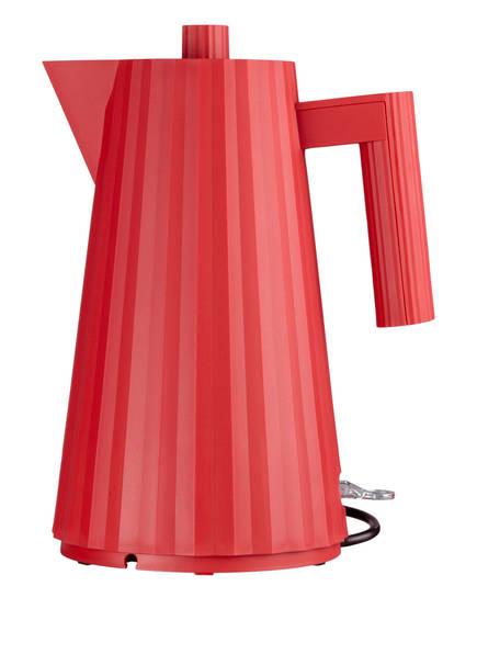 ALESSI Elektrischer Wasserkocher PLISSÉ, Farbe: ROT (Bild 1)