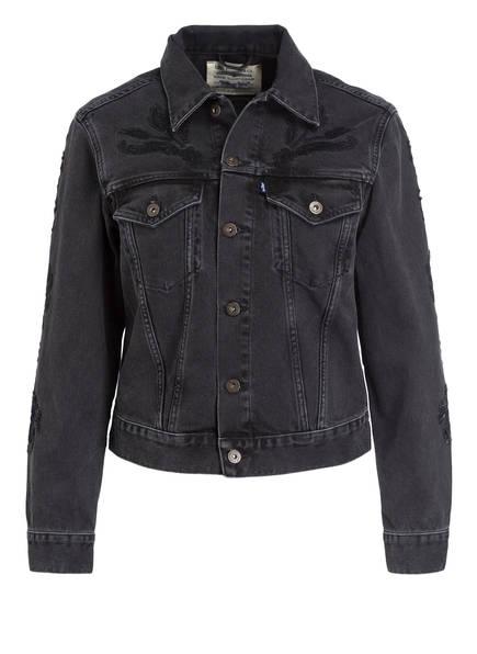 Levi's® Jeansjacke , Farbe: SCHWARZ (Bild 1)