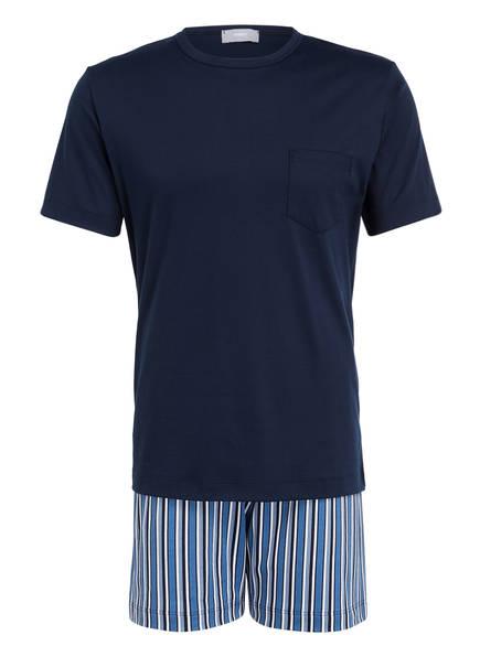 mey Shorty-Schlafanzug, Farbe: DUNKELBLAU (Bild 1)