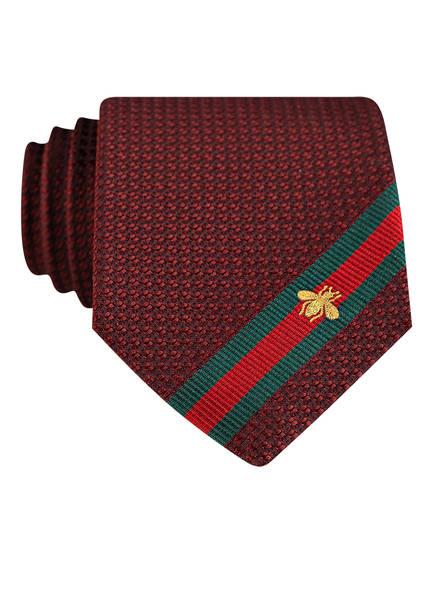GUCCI Krawatte, Farbe: ROT (Bild 1)
