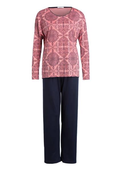 mey Schlafanzug, Farbe: DUNKELBLAU/ ROSÉ (Bild 1)