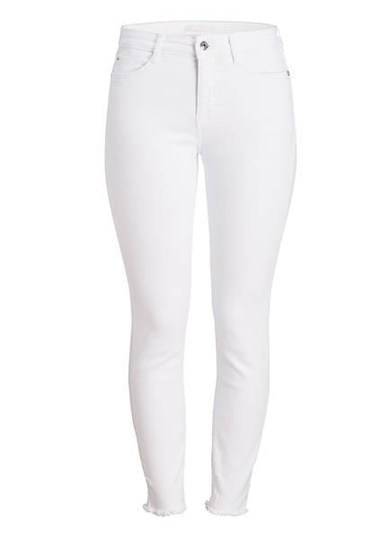MAC DAYDREAM Skinny-Jeans DAY 1.11, Farbe: WHITE DESTROYED HEM (Bild 1)