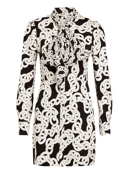 DIANE VON FURSTENBERG Kleid FRANCA, Farbe: SCHWARZ/ WEISS (Bild 1)