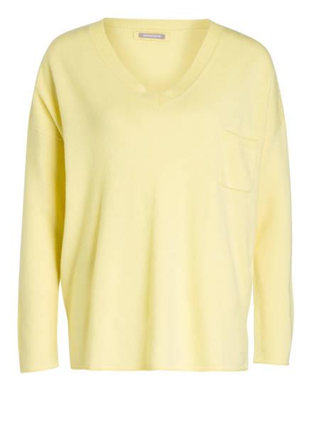 HEMISPHERE Cashmere-Pullover , Farbe: GELB (Bild 1)