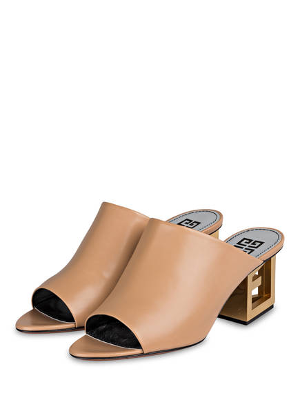 GIVENCHY Mules, Farbe: BEIGE (Bild 1)