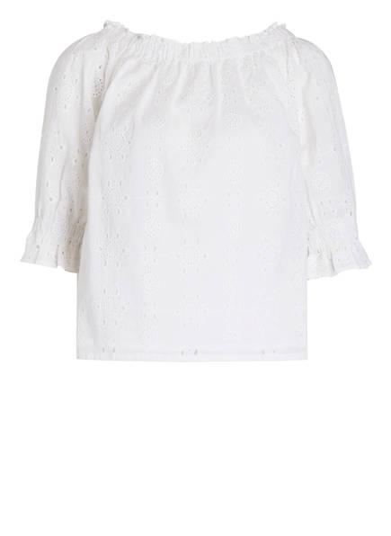 DARLING HARBOUR Off-Shoulder-Bluse , Farbe: WEISS (Bild 1)