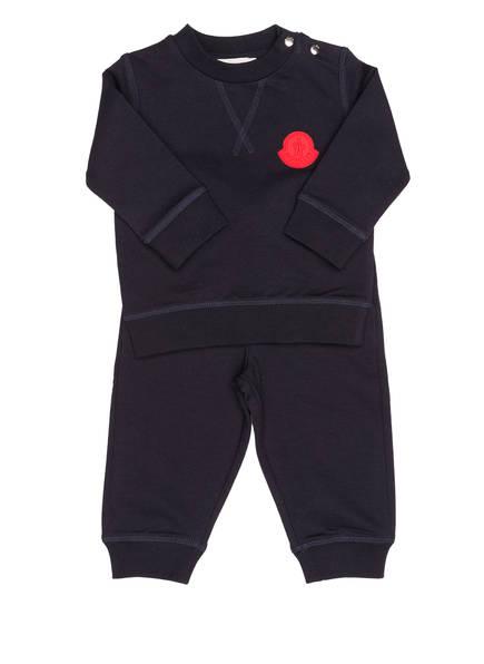 MONCLER Set: Sweatshirt und Sweatpants, Farbe: MARINE (Bild 1)