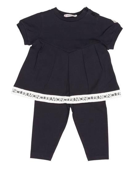MONCLER Set: T-Shirt und Leggings, Farbe: DUNKELBLAU (Bild 1)